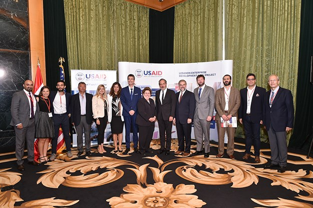 USAID and Berytech Celebrate Launch of LED Project