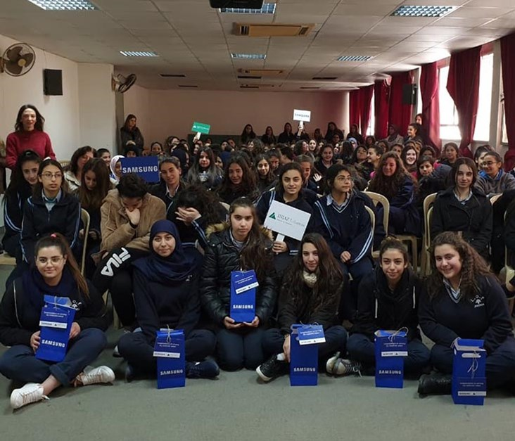 Samsung Rewards 10 Graduates of Its Sponsored Youth Empowerment Programs in Lebanon