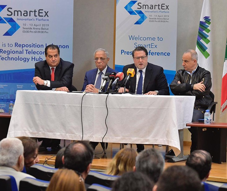 Lebanon's 3rd Smartex Technology Exhibition Announced for April 10-13