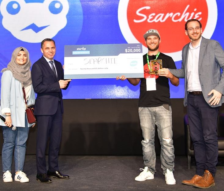 Searchie: The Region's Champion of Arabnet Startup Championship
