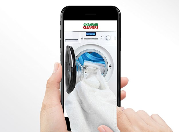 Champion Cleaners Announce Launch of Mobile App